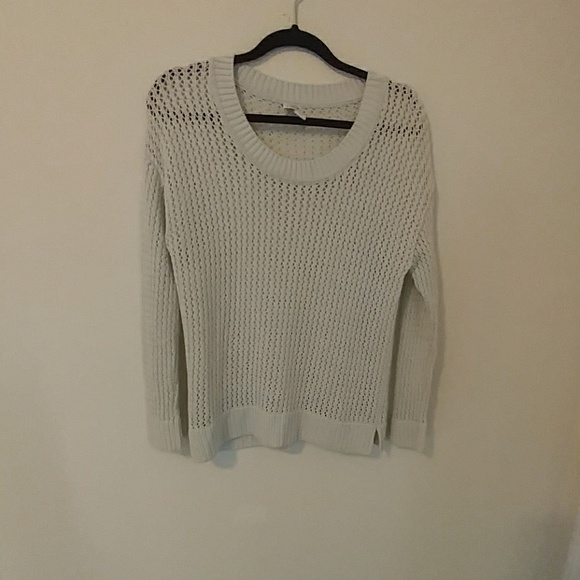 Coldwater Creek - Coldwater Creek mesh sweater from Barbara's ...